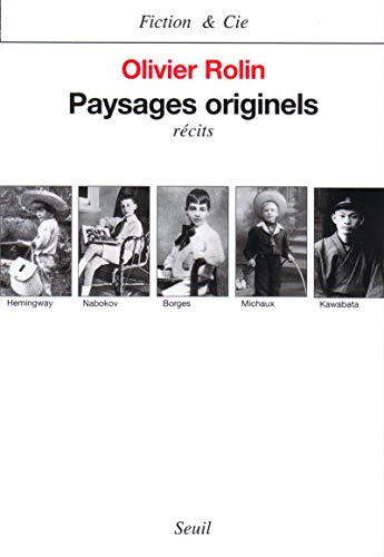 9782020387316: Paysages originels: Récits (Fiction & Cie) (French Edition)