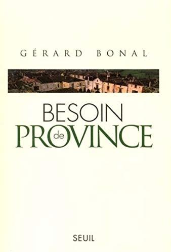 9782020414876: Besoin de province