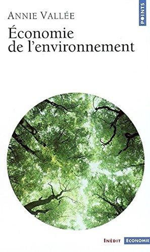 9782020474252: Économie de l'environnement
