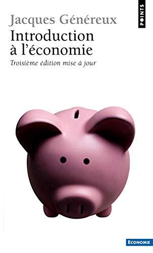9782020481847: Introduction à l'économie