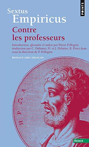 9782020485210: Contre les professeurs (bilingue grec-français)