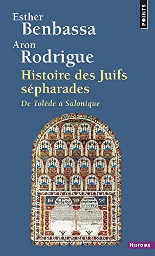 9782020531504: Histoire des juifs sépharades : De Tolède à Salonique