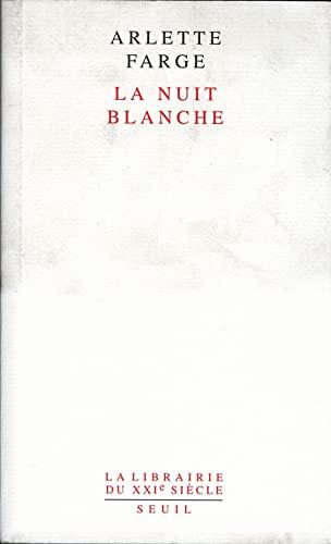 9782020541718: La Nuit blanche