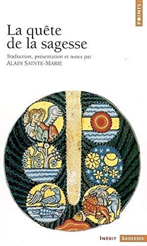 9782020585354: Qute de La Sagesse(la) (English and French Edition)