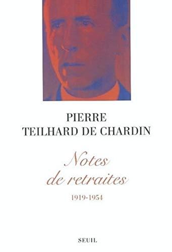 9782020613385: notes de retraites (1919-1954)