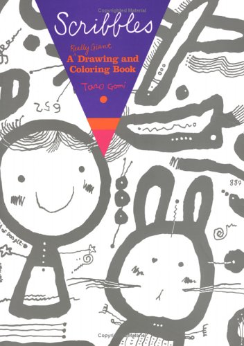 9782020613965: Scribbles: A Really Giant Drawing and Coloring Book