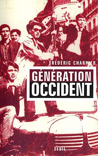 generation occident: Frédéric Charpier