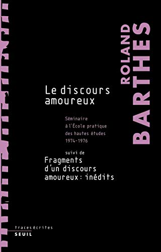 9782020618502: Le discours amoureux (French Edition)
