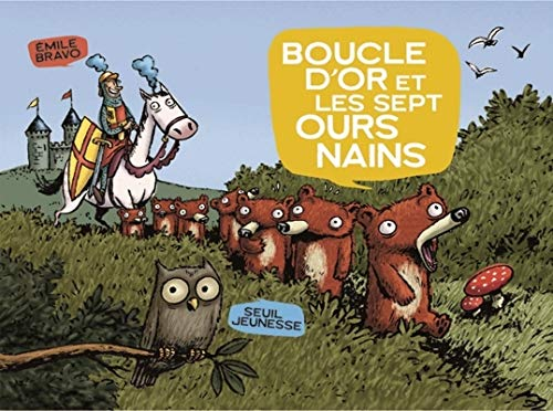 9782020620185: Boucle d'or et les sept ours nains (La bande des petits)
