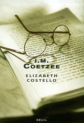 Elizabeth Costello : Huit leçons (Cadre Vert): J-M Coetzee