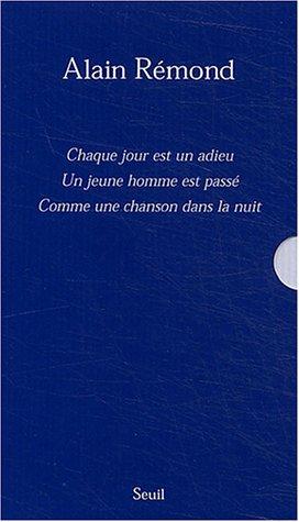 Alain Rémond coffret 3 volumes (French Edition): Alain Rémond