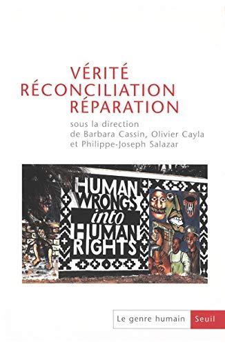 9782020628860: Le genre humain, N° 43 : Vérité, réconciliation, réparation