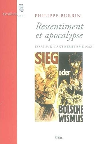 9782020632621: Ressentiment et apocalypse (French Edition)
