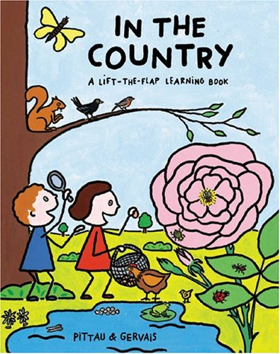9782020694186: In the Country (A Lift-the-Flap Learning Book)