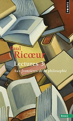 Lectures 3: Ricoeur, Paul