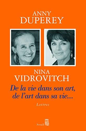 9782020873871: De la vie dans son art, de l'art dans sa vie... (French Edition)