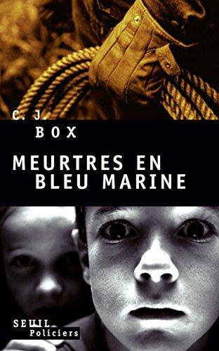 9782020949286: Meurtres en bleu marine