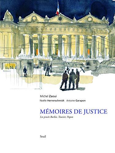 Mémoires de justice: Zaoui, Michel