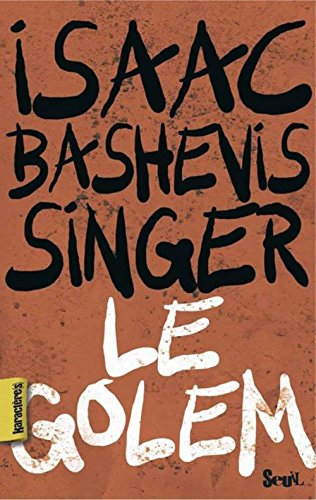 9782020964791: Le Golem (French Edition)