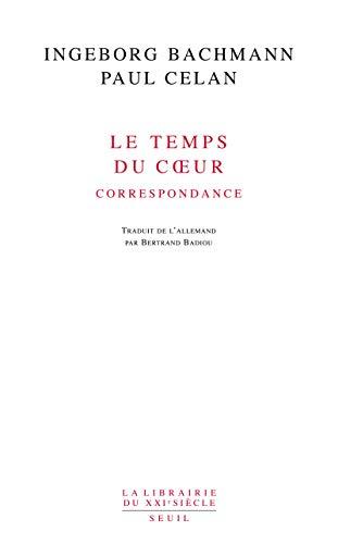 9782020970235: Le temps du coeur : Correspondance (1948-1967) (La Librairie du XXe siècle)