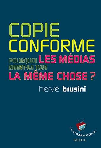 Copie conforme: Brusini, Herv�