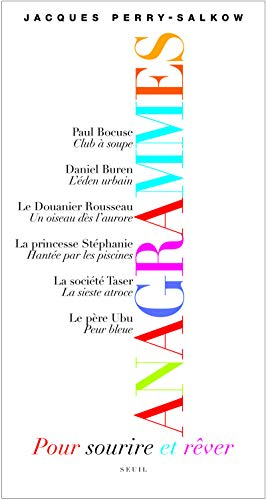 9782020993395: Anagrammes (French Edition)