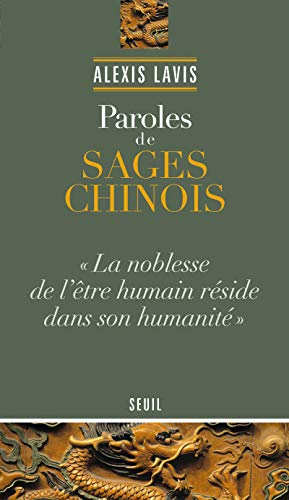 9782021011265: Paroles de sages chinois