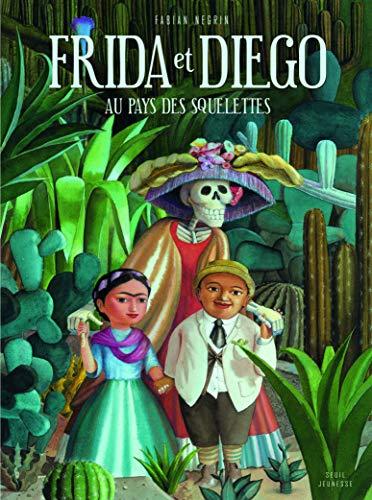 9782021044300: Frida et Diego au Pays des Squelettes
