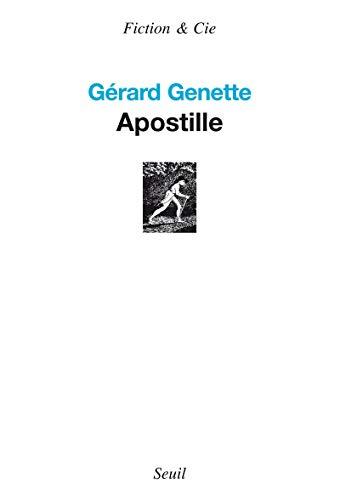 apostille: Gerard Genette