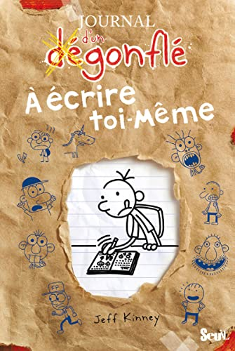 9782021059090: Journal d'un dégonflé à écrire toi-même
