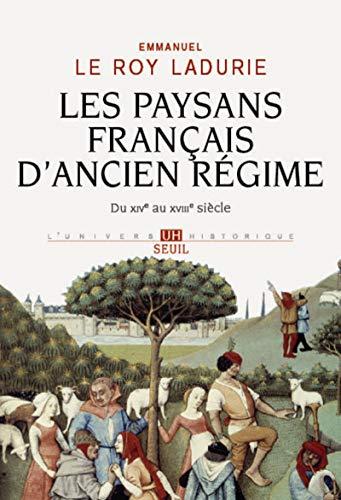 9782021089486: Les paysans français d'Ancien Régime : Du XIVe au XVIIIe siècle