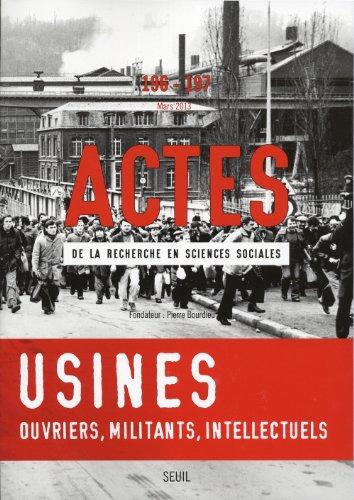Actes recherche sciences sociales, no 196/197: Collectif