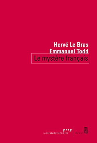 9782021102161: Le mystère français (La république des idées)