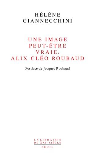 Une image peut-être vraie: Alix Cléo Roubaud: Giannecchini, H�l�ne