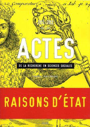 Actes recherche sciences sociales, no 201-202: Collectif