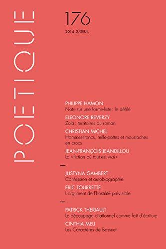Poétique, no 176: Collectif