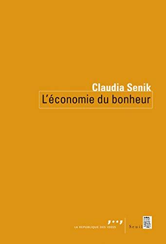 ECONOMIE DU BONHEUR -L-: SENIK CLAUDIA