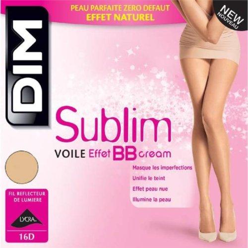 9782022119991: DIM - collant voile effet bb cream BEIGE ECLAT T4