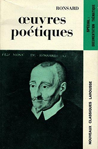 9782030348512: Oeuvres Poetiques