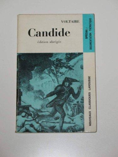 Candide (noveaux classiques larousse): Francois M. Voltaire