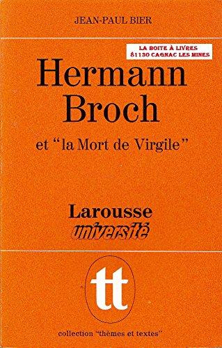 9782030350263: Hermann Broch et