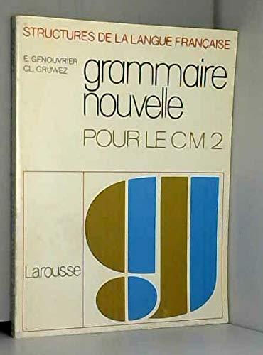 Grammaire nouvelle, CM2