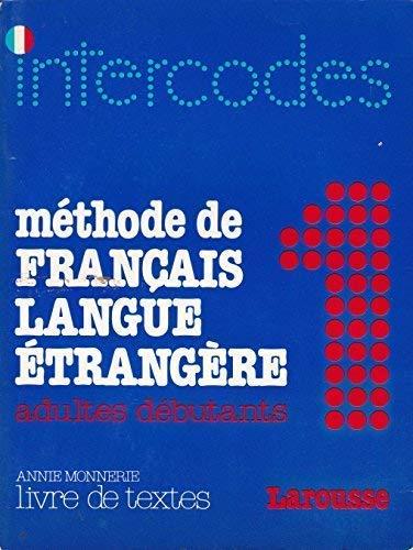 Intercodes Methode De Francais Langue