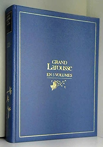 9782031013334: Grand Larousse en 5 volumes tome 3 : Fougeres Marbrure