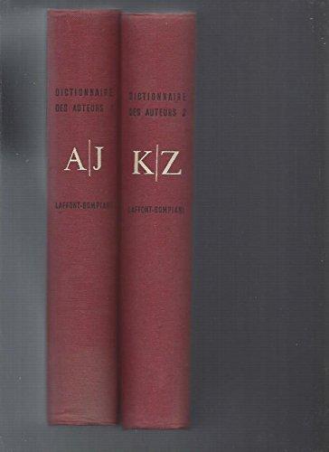 Dictionnaire en 2 volumes: Laffont Bompiani