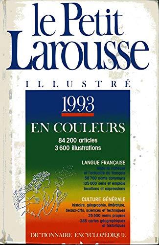 Le Petit Larousse Illustre 1995: collectif