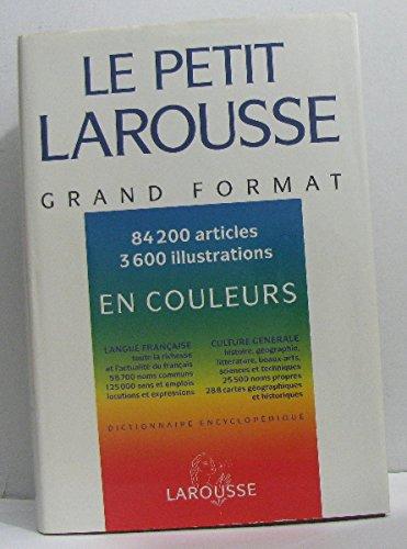 Petit Larousse grand format en couleurs 1994