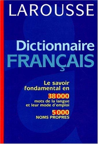 9782033202149: Dictionnaire français