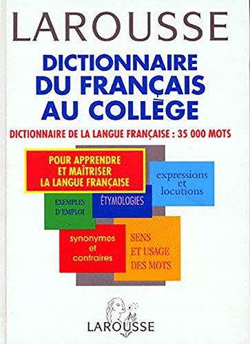 Dictionnaire du français au collège : 35000: Collectif