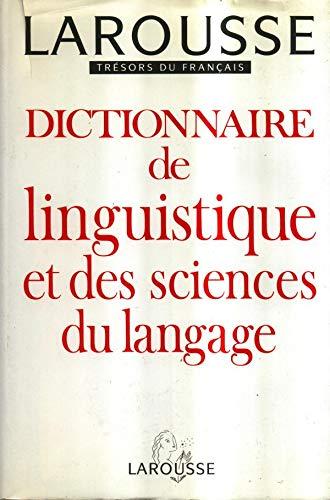 9782033403348: Dictionnaire de linguistique et des sciences du langage